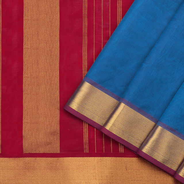 Kanakavalli Silk/Cotton Sari 582-08-60454 - Cover View