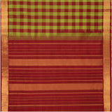 Kanakavalli Silk/Cotton Sari  593-08-102936 - Full View