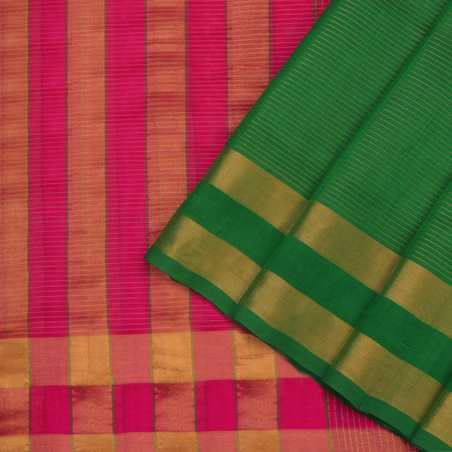 Kanakavalli Silk/Cotton Sari 593-08-87222 - Cover View