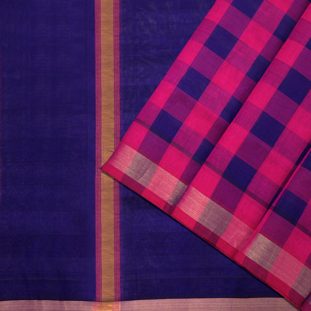 Kanakavalli Silk/Cotton Sari 593-08-91460 - Cover View