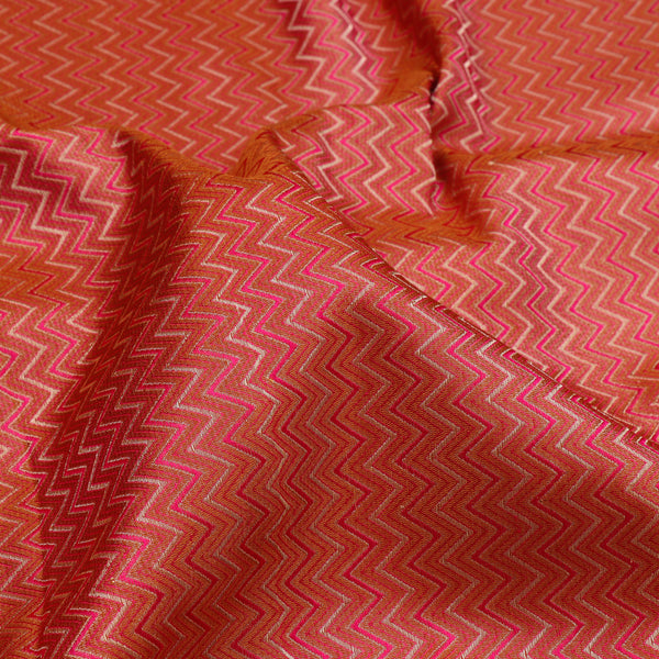 Kanakavalli Brocade Silk Blouse Length 596-06-105994 - Fabric View