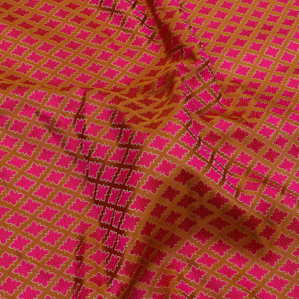 Kanakavalli Brocade Silk Blouse Length 596-06-106067 - Fabric View