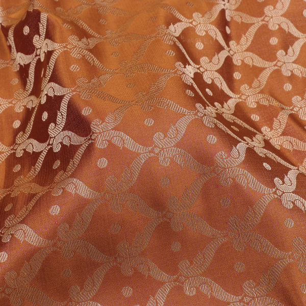 Kanakavalli Brocade Silk Blouse Length 596-06-106086 - Fabric View