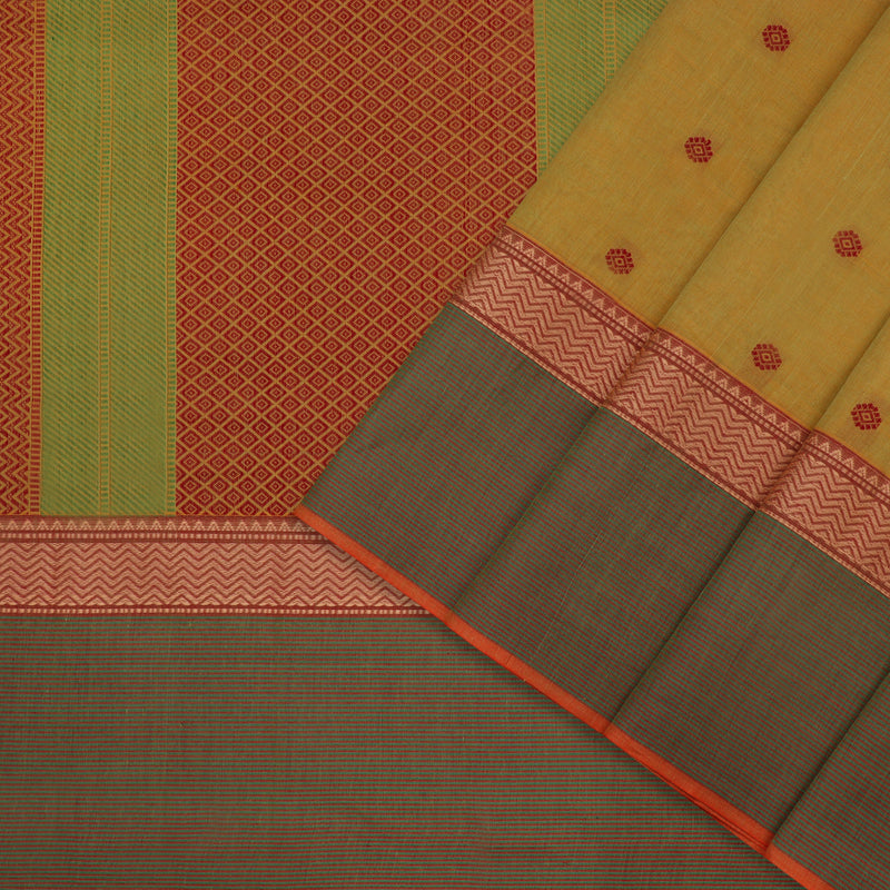 Kanakavalli Kanchi Cotton Sari 598-09-106987 - Cover View
