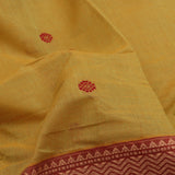 Kanakavalli Kanchi Cotton Sari 598-09-106987 - Fabric View