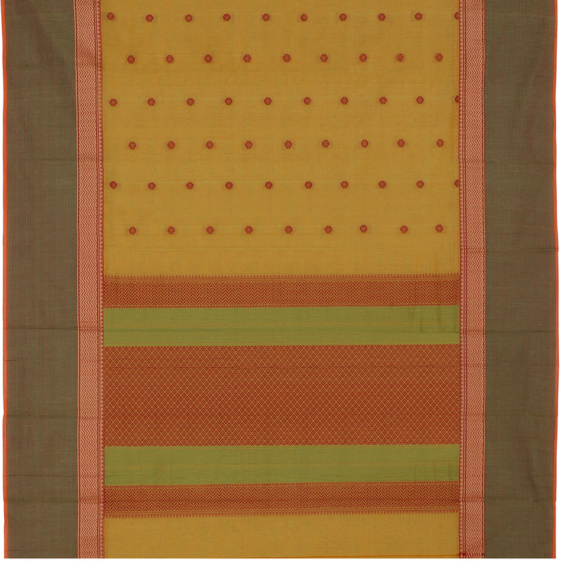 Kanakavalli Kanchi Cotton Sari 598-09-106987 - Full View