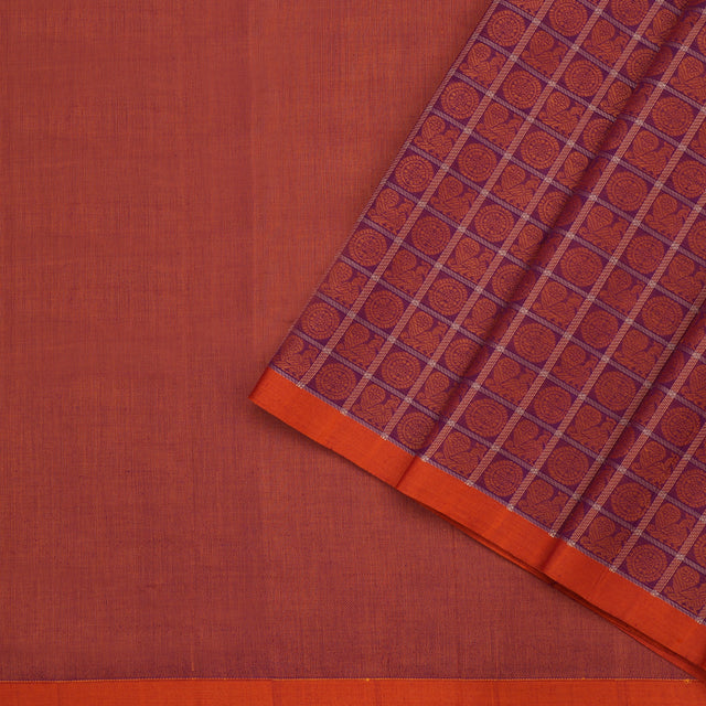 Kanakavalli Kanchi Cotton Sari 071-09-102261 - Cover View