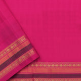 Kanakavalli Gadwal Silk/Cotton Sari 604-08-112289 - Blouse View