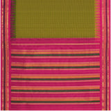 Kanakavalli Gadwal Silk/Cotton Sari 604-08-112289 - Full View