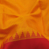 Kanakavalli Gadwal Silk/Cotton Sari 604-08-112298 - Fabric View