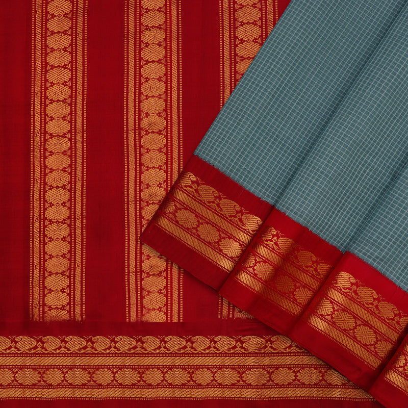 Kanakavalli Gadwal Silk/Cotton Sari 604-08-112322 - Cover View