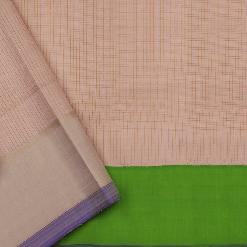 Kanakavalli Gadwal Silk/Cotton Sari 604-08-112334 - Blouse View