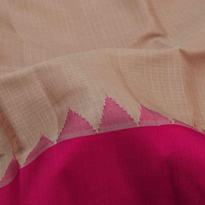 Kanakavalli Gadwal Silk/Cotton Sari 604-08-112335 - Fabric View