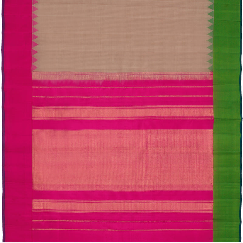 Kanakavalli Gadwal Silk/Cotton Sari 604-08-112335 - Full View