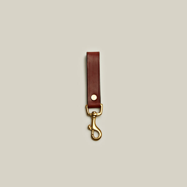 Bridle Leather Lanyard, Tan