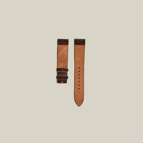 Cordovan Un-lined Watch Strap, Oxblood