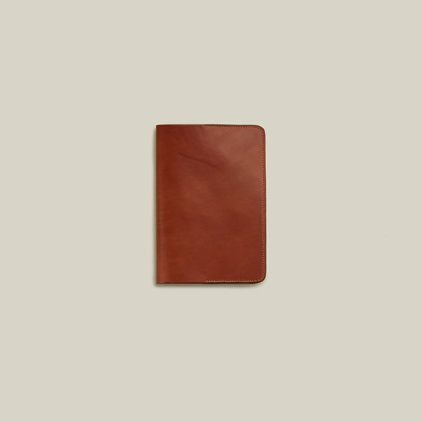 Cordovan Notebook Cover, Natural - Back in Stock