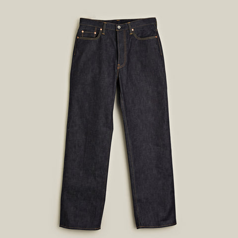 Raw Denim Jeans, Indigo
