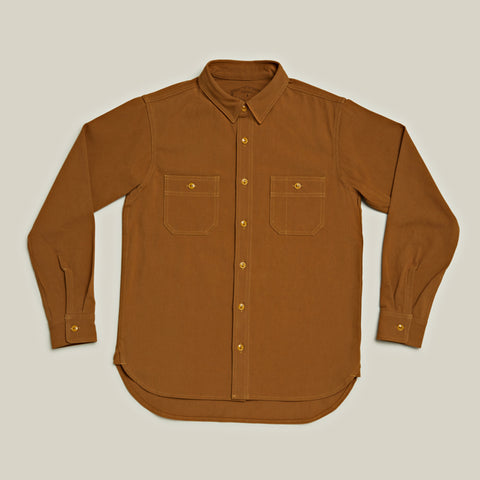 Heavy Work Shirt, Camel