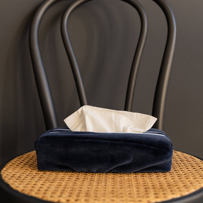 Midnight Express tissue box cover