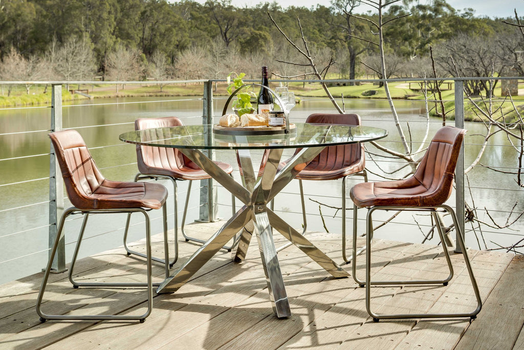 Aspen Round Dining Table Dining Furniture West