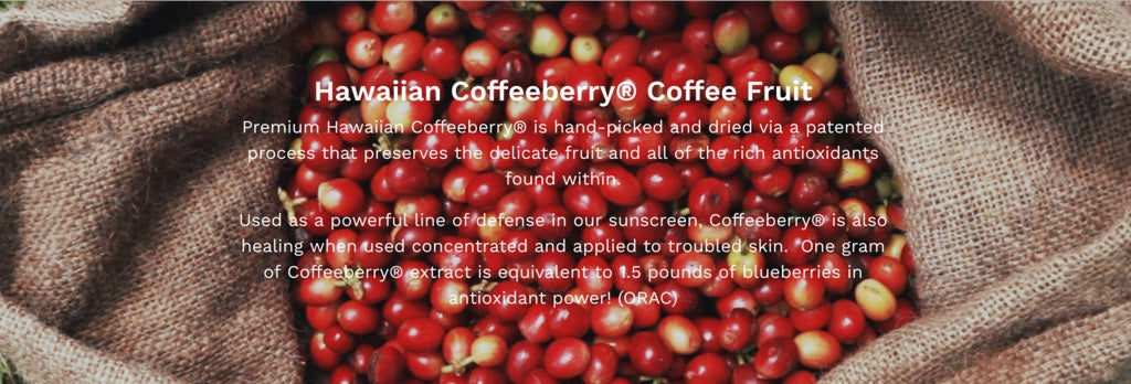 Hana Naia Hawaiian Coffeeberry Collection