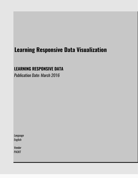 LEARNING RESPONSIVE DATA