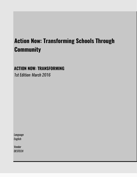 ACTION NOW: TRANSFORMING