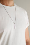 Silver dream chain necklace for men - shani-adi-jewerly