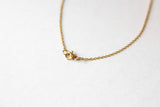 Gold heart necklace, small heart bead pendant, stainless steel chain necklace, bridesmaids gift for her, minimalist, Layering necklace, girl