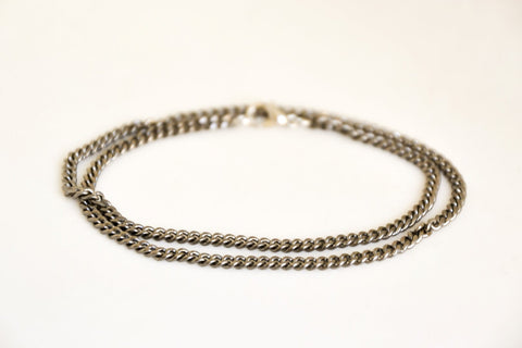 Cuban links wrapped chain bracelet for men