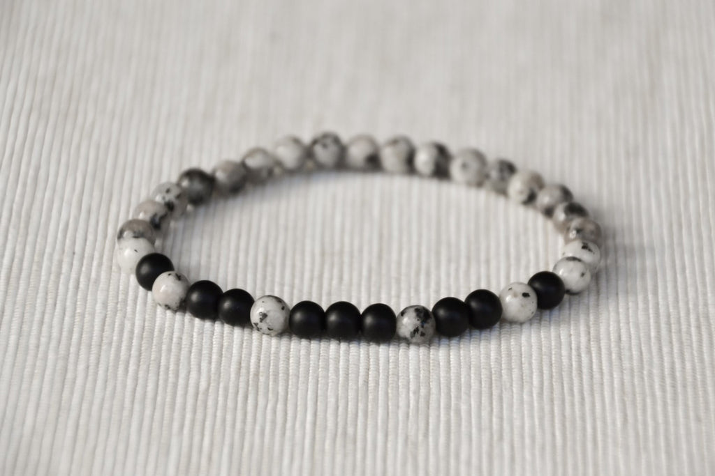 men and sterling black mens buy noir bracelets beaded handmade onyx for s bracelet back silver