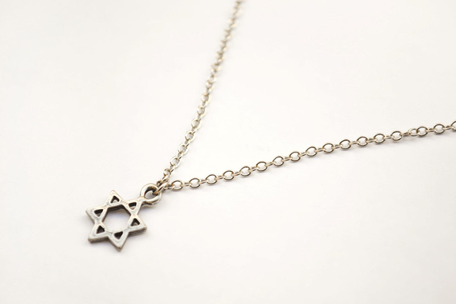 inches starofdavid of silver bracelet necklace b cz magen sterling star david jewelry byj bling