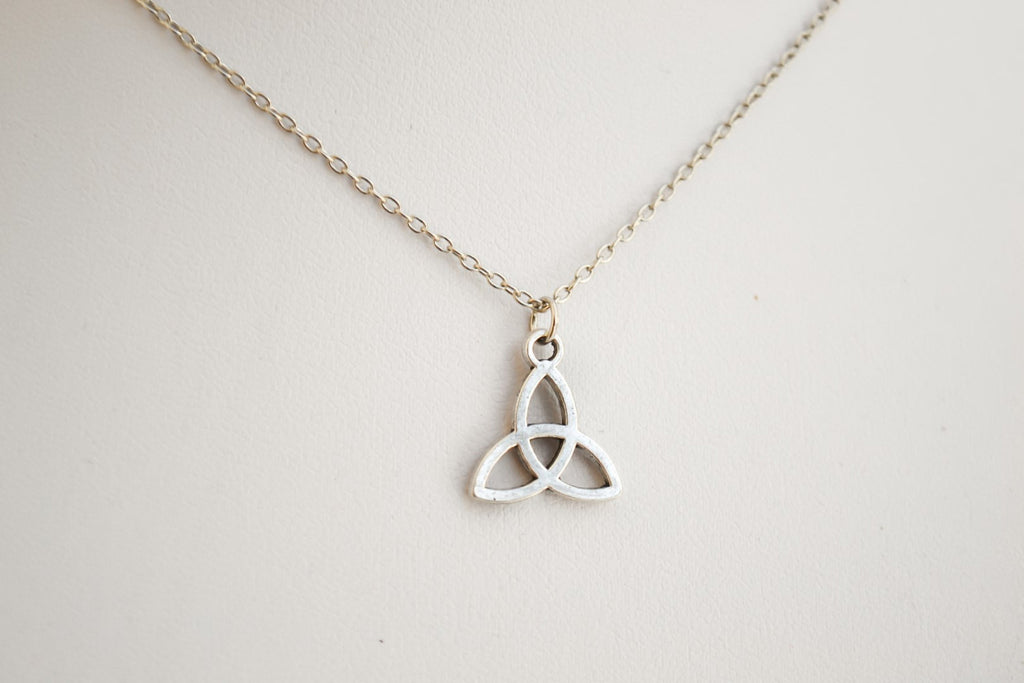 Stainless steel chain Trinity necklace for men, gift for man - shani-adi-jewerly