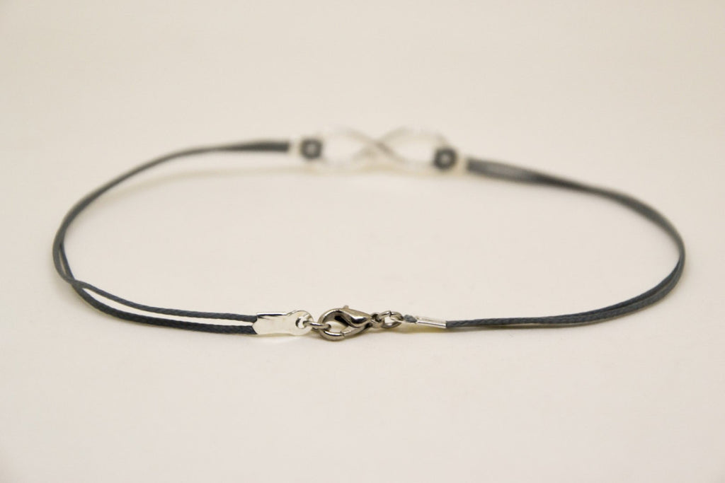 bracelet by for anklet product infinity wishedfor sterling original can infinty be wished personalised silver