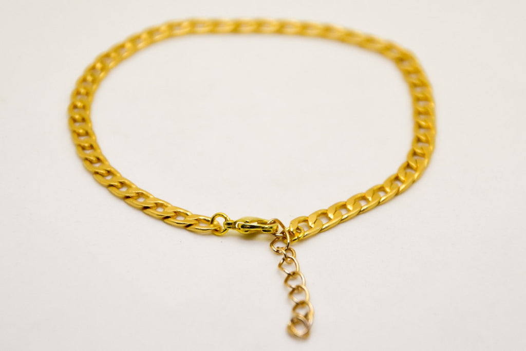 ankle gold womens anklet bracelet jewelry fine pin