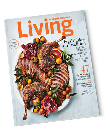 Free 1 year subscription to Martha Living