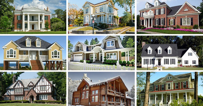 Find Out What Style of Home You Like Best - 33 Architectural Styles