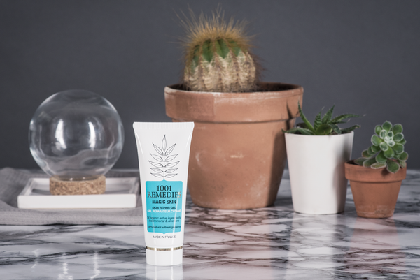 Aloe Vera gel imperfections - Magic skin