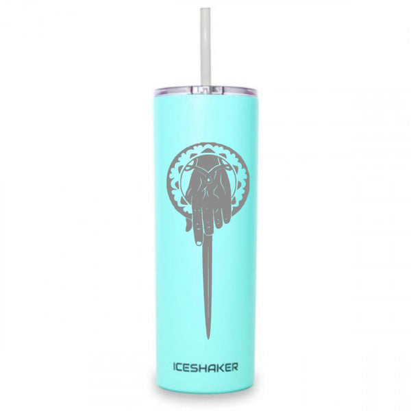 Hand of the King 20oz Skinny Steel Tumbler-Mint