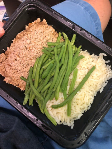 Turkey green beans and rice