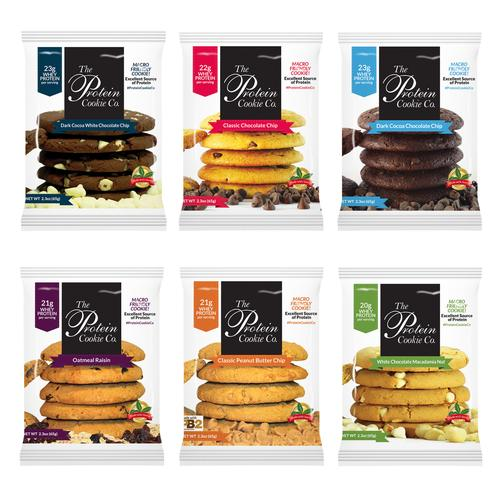 Protein Cookie Co. Variety Six Pack