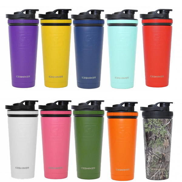Ice Shaker Color Bottles