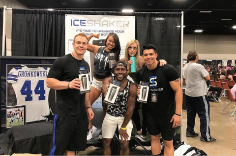 Ice Shaker Booth at Phil Heath Fit Expo
