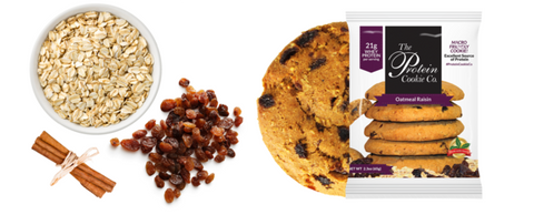 Protein Cookie Co. Oatmeal Raisin