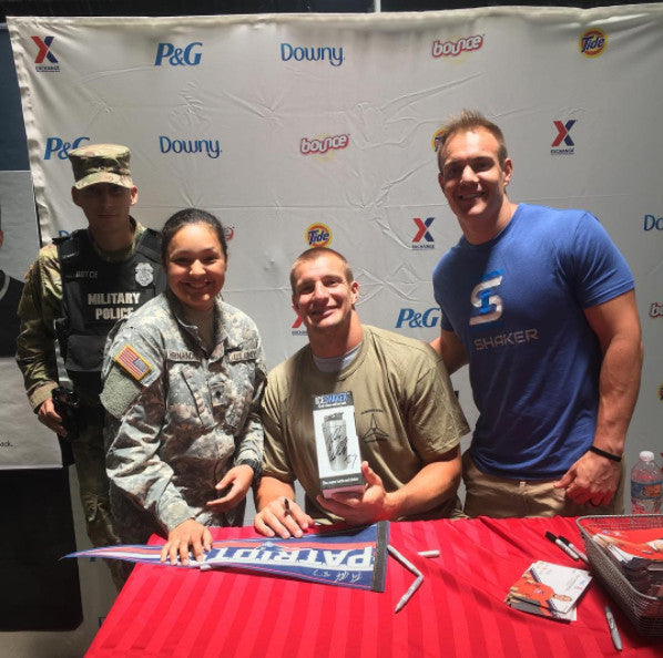 rob and chris gronkowski fort hood