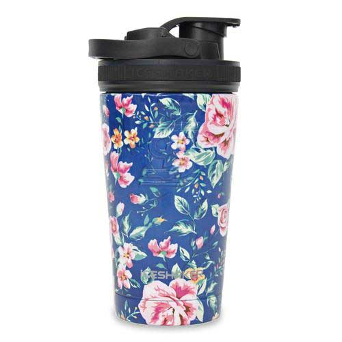 16oz Floral Shaker Bottle