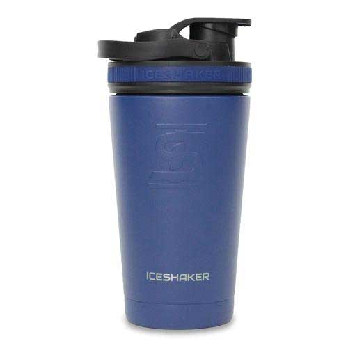 16oz Steel Shaker Bottle Navy