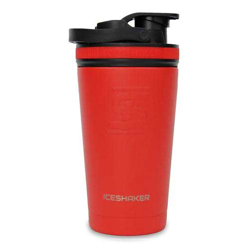 16oz Red Shaker Bottle
