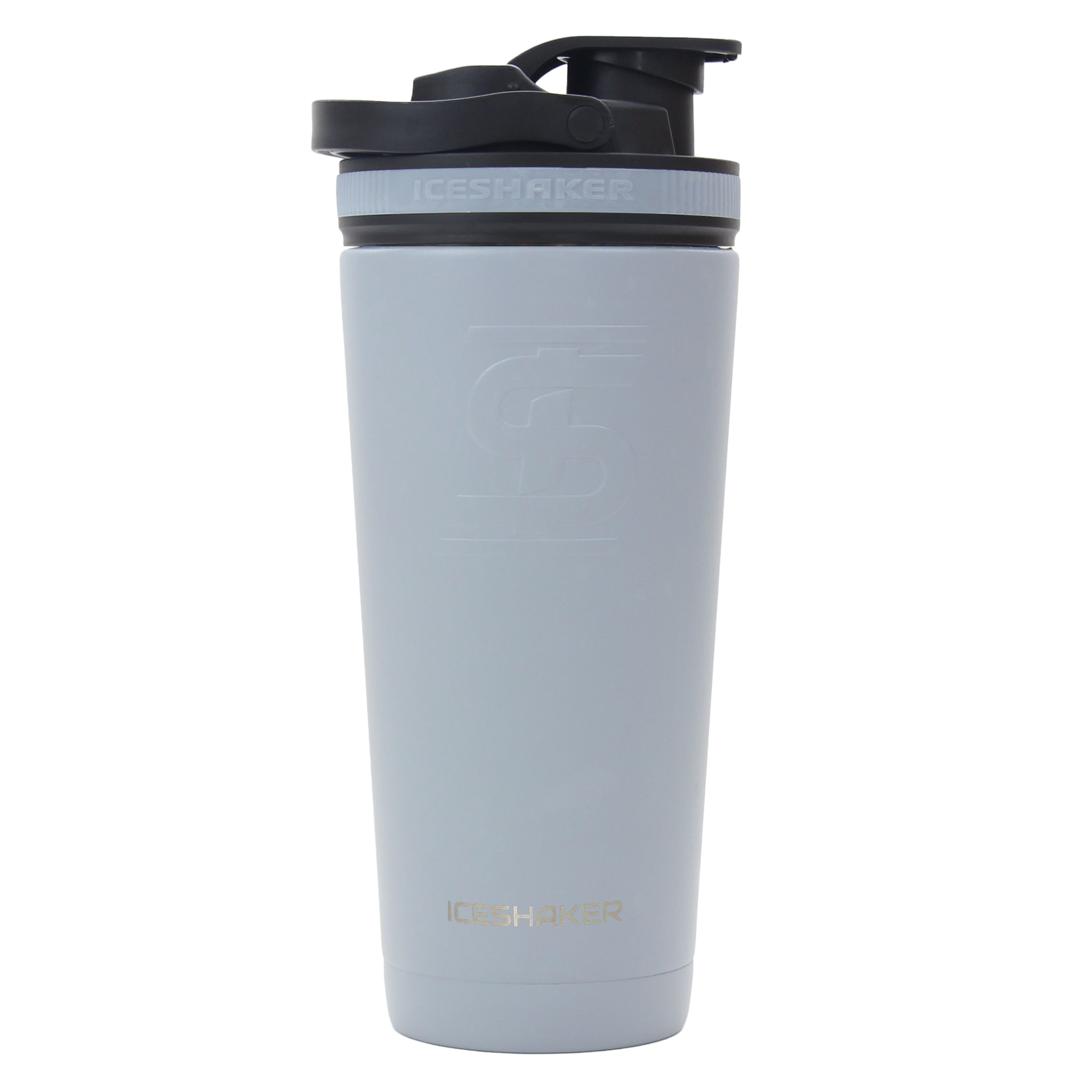 26oz Battleship Grey Ice Shaker